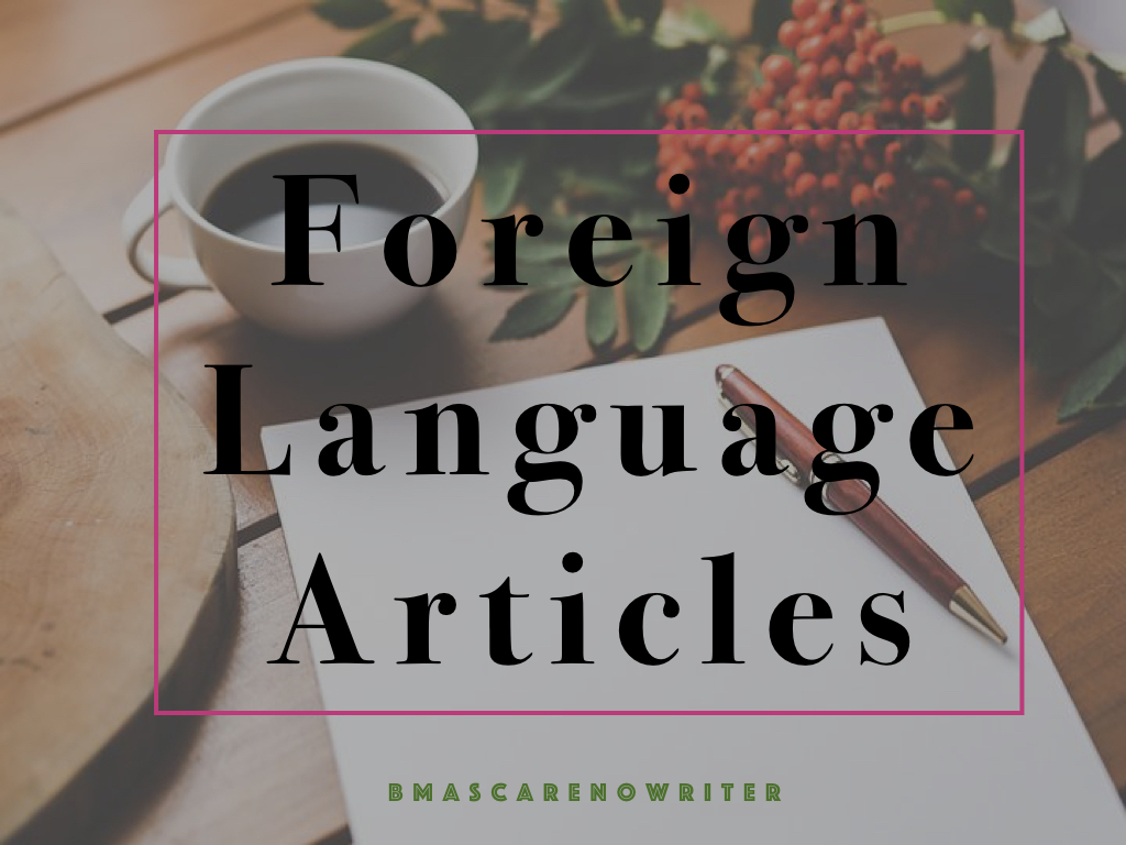 foreign language articles