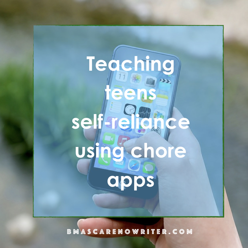 teaching teens self-reliance