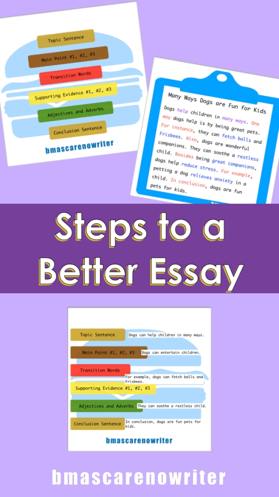 steps to better essay