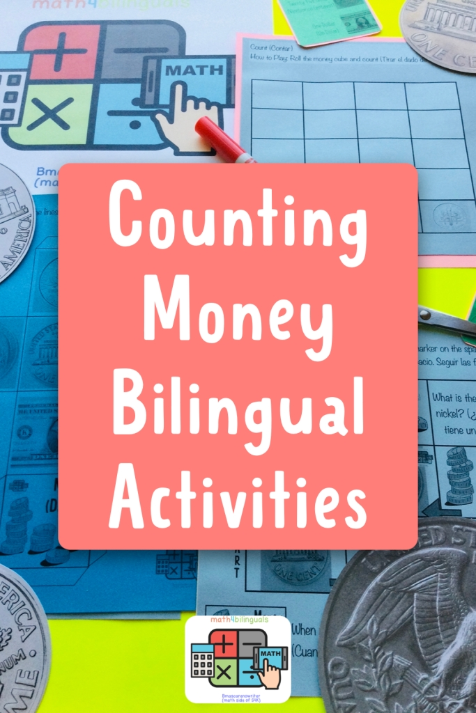 counting money bilingual activities